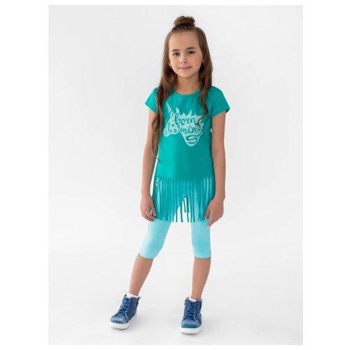 Комплект одежды looklie размер 98-104, изумрудный комплект одежды looklie размер 98 104 изумрудный