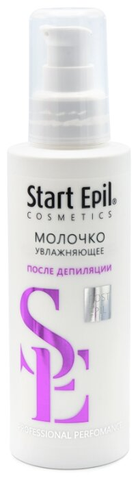 Start Epil Молочко увлажняющее с экстрактом белого