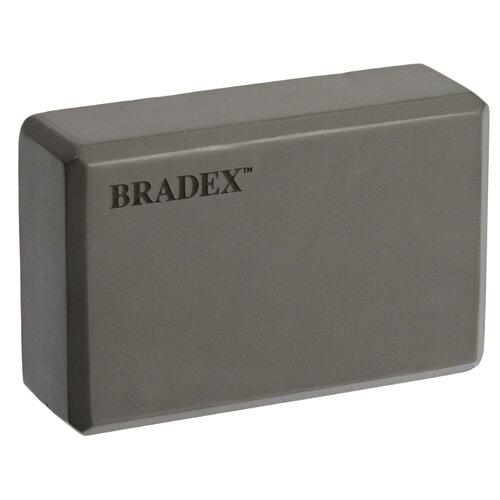 Блок для йоги BRADEX SF 0407 / SF 0408 / SF 0409 серый