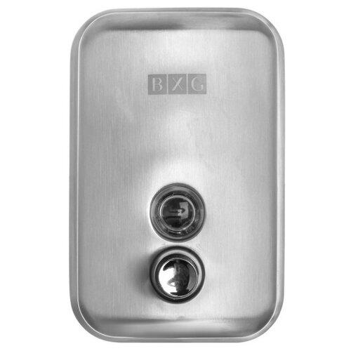Дозатор для жидкого мыла BXG SD-H1-500/SD-H1-500M серебристый матовый диспенсер для жидкого мыла ksitex наливной нержавеющая сталь матовый 0 8 л sd 1618 800 m