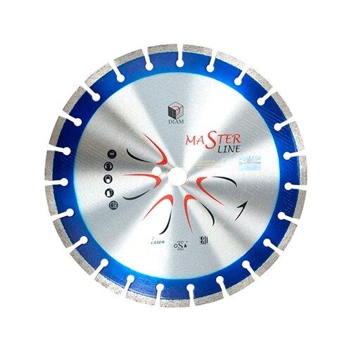 цена на Диск алмазный отрезной 230x2.4x22.23 DIAM Master Line 501 1 шт.