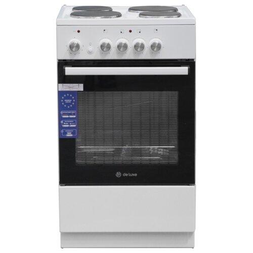 Электрическая плита De Luxe 5004.18э пескобетон de luxe м 150 50 кг