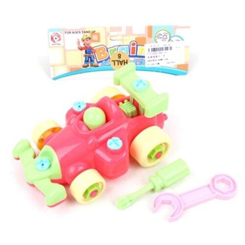 Винтовой конструктор Наша игрушка 66712 Гоночная машина игрушка