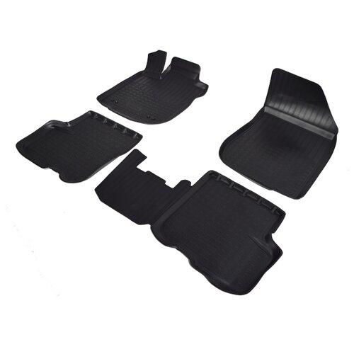Комплект ковриков NorPlast NPA11-C69-350 4 шт. черный