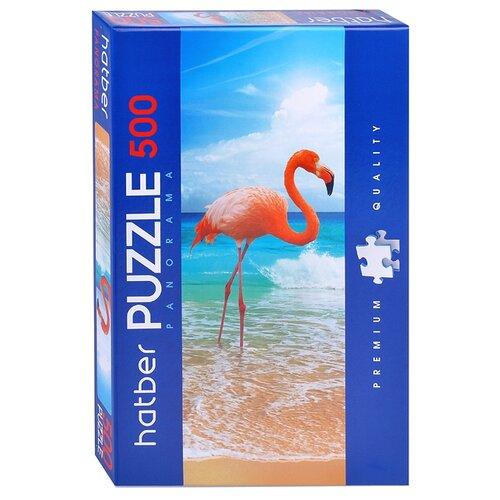 Купить Пазл Hatber Premium Панорама Фламинго (500ПЗ2_19323), 500 дет., Пазлы
