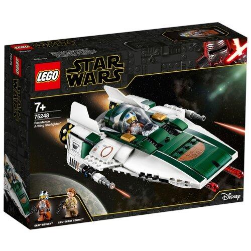 Конструктор LEGO Star Wars 75248 Episode IX Звёздный истребитель Повстанцев типа А lego star wars 75272 конструктор лего звездные войны истребитель сид ситхов