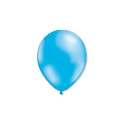 Набор воздушных шаров MILAND Металлик 13 см (100 шт.) небесно-голубой