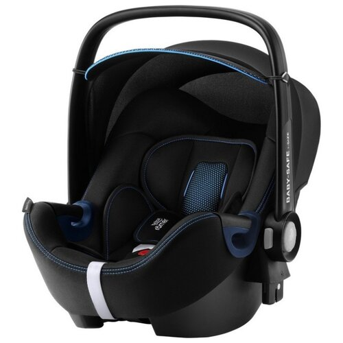 Автокресло-переноска группа 0+ (до 13 кг) BRITAX ROMER Baby-Safe2 i-Size, cool flow blue автокресло britax romer kidfix iii s cool flow black special защитный чехол смешарики в подарок