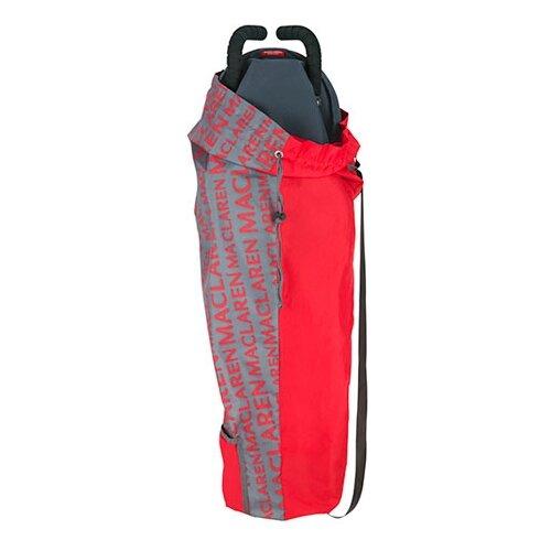 Купить Maclaren сумка для переноски коляски Maclaren Lightweigt Storage Charcoal/Scarlet, Аксессуары для колясок и автокресел