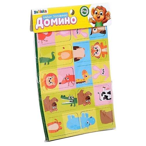 Фото - Настольная игра Zabiaka уд Найди половинку пластиковое лото для малышей что в корзинке найди половинку