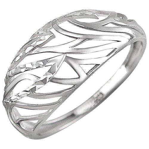 Эстет Кольцо из серебра 01К7510448, размер 17