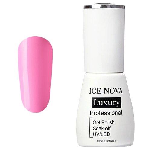Купить Гель-лак для ногтей ICE NOVA Luxury Professional, 10 мл, 019 bubblegum