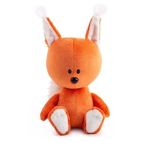 Фото - Мягкая игрушка Лесята Белка Бика 15 см мягкая игрушка лесята ёжик игоша в свитере 15 см