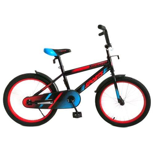 """Детский велосипед Navigator Sports (ВН20217) черный 11"""" (требует финальной сборки)"""