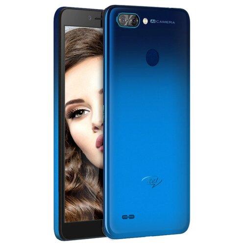 Смартфон Itel A46 2/16GB синий смартфон itel a44 серый