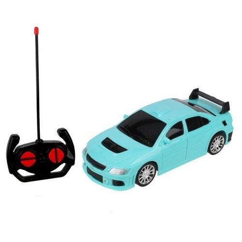 Легковой автомобиль Mei Duo Xing YY26C 1:24 17 см голубой