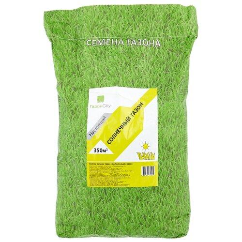 Смесь семян для газона ГазонCity Настоящий Солнечный газон, 10 кг смесь семян газонcity настоящий солнечный газон 1 кг