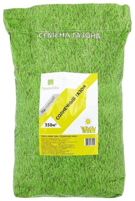 Смесь семян ГазонCity Настоящий Солнечный газон, 10 кг