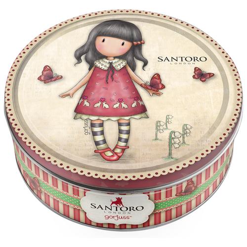Печенье Сладкая Сказка Santoro London Gorjuss с клубникой 150 г