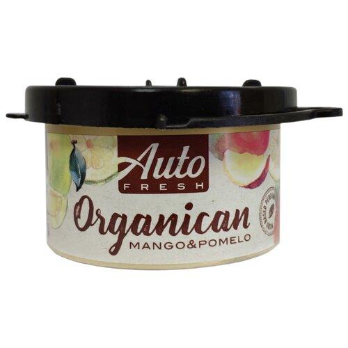 Auto Fresh Ароматизатор для автомобиля Organican Mango Pomelo 60 г
