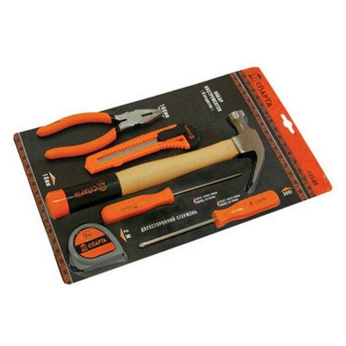 Фото - Набор инструментов Sparta (6 предм.) 13540 черный/оранжевый набор инструментов sparta 6 предм 13540 черный оранжевый