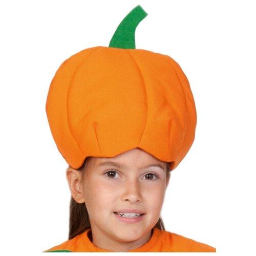 Купить Маска КарнавалOFF Тыква (4127), оранжевый/зеленый, размер 53-55, Карнавальные костюмы
