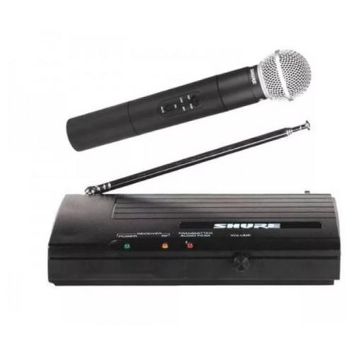 Микрофон беспроводной Shure SH-200 (Черный с серебром)