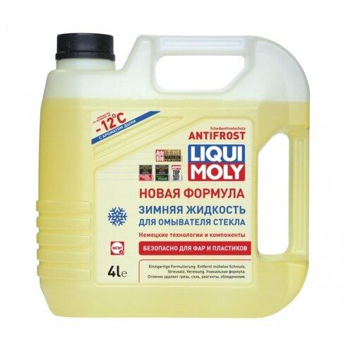 Жидкость для стеклоомывателя LIQUI MOLY ANTIFROST ScheibenFrostschutz, -12°C, 4 л