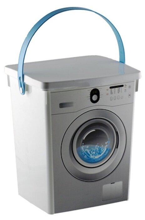 ПОЛИМЕРБЫТ Контейнер для стирального порошка 5л белый