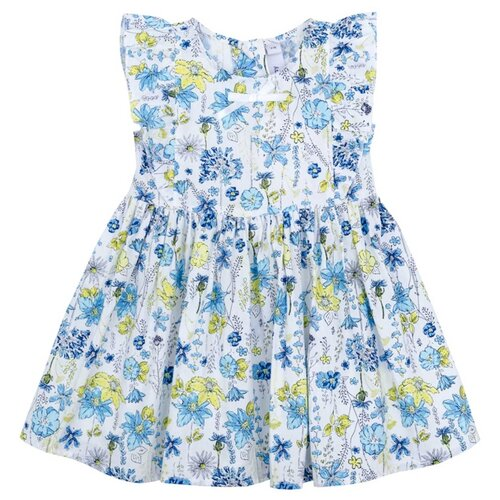 Фото - Платье playToday размер 86, синий/голубой комбинезон playtoday размер 86 синий
