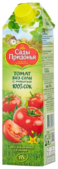 Сок Сады Придонья Томат без соли, без сахара