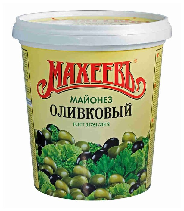 Майонез Махеевъ Оливковый ведро 50.5%
