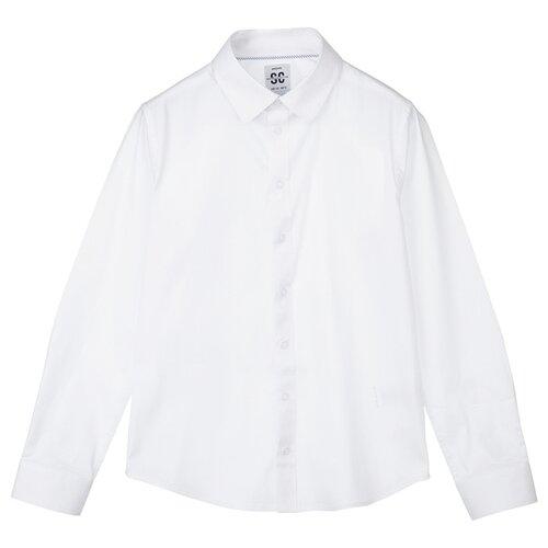 Купить Рубашка playToday размер 128, белый, Рубашки