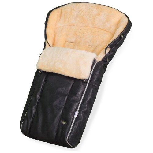 Купить Конверт в коляску Esspero Lukas Lux (натуральная 100% шерсть) (Black), Конверты и спальные мешки