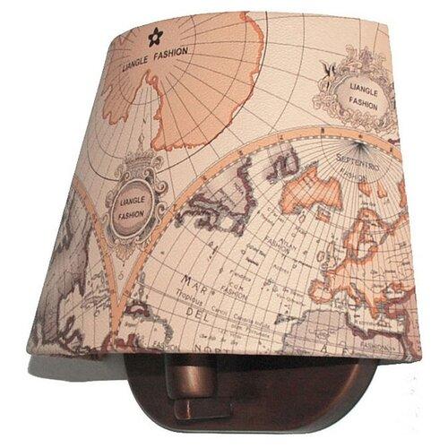 Настенный светильник Favourite Mappa 1122-1W, 40 Вт настенный светильник favourite batun 2020 1w 40 вт