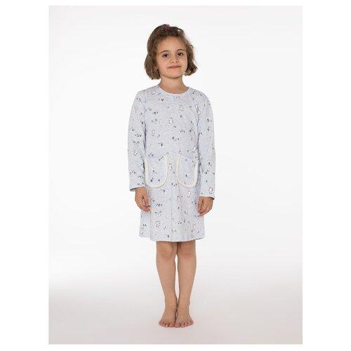 Купить Сорочка Arnetta размер 6, голубой меланж, Домашняя одежда