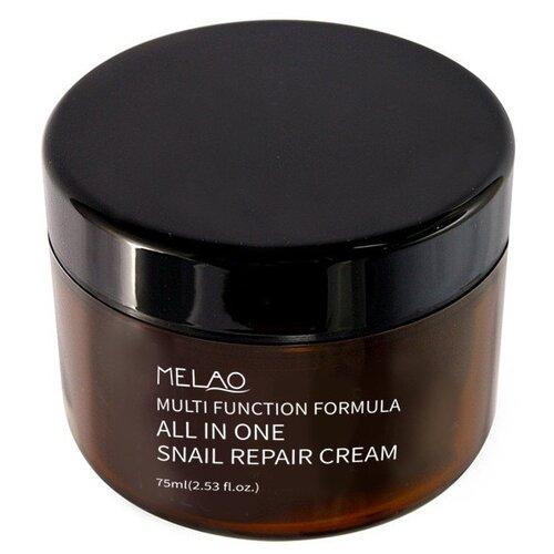 MELAO All in one Snail repair cream Многофункциональный крем для лица на основе муцина улитки, 75 мл