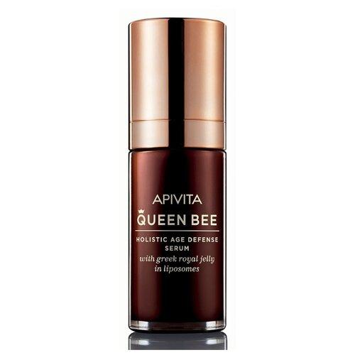 Сыворотка Apivita Queen Bee Holistic Age Defense Serum Квин Би сыворотка для комплексной защиты от старения, 30 мл