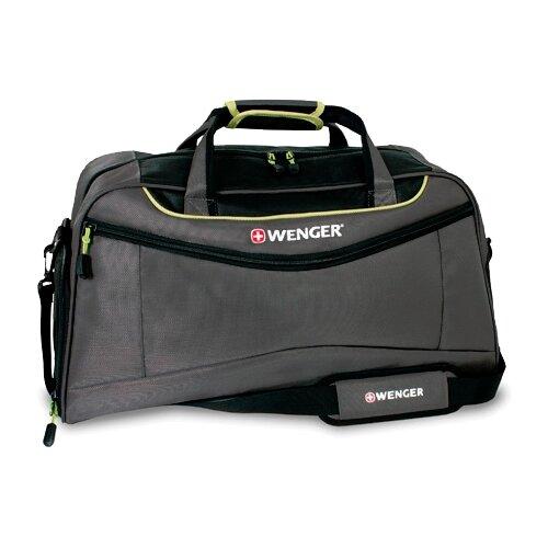 сумка планшет wenger текстиль светло серый Сумка спортивная WENGER 72614661, серый/салатовый