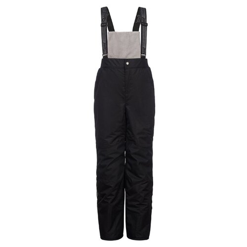 Купить Полукомбинезон Oldos Стелла AAW203T1PT00 размер 98, черный, Полукомбинезоны и брюки