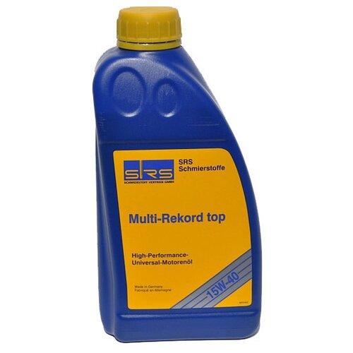 Минеральное моторное масло SRS Multi-Rekord top 15W40 1 л минеральное моторное масло srs multi rekord top 15w40 1 л