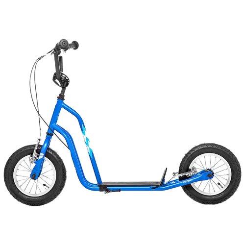 Фото - Внедорожный самокат Yedoo Wzoom синий/голубой самокат 2х колесный yedoo trexx красный черный 111524