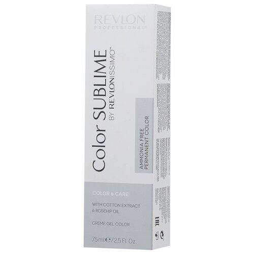 Revlon Professional Revlonissimo Color Sublime стойкая краска для волос, 75 мл, 9.3 очень светлый блондин золотистый холодный светлый блондин