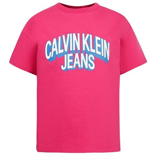 Футболка CALVIN KLEIN размер 128, розовый