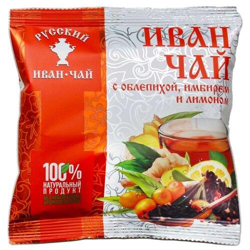 Чай травяной Русский иван-чай с облепихой, имбирем и лимоном , 50 г фото