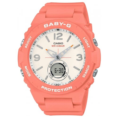 Наручные часы CASIO BGA-260-4A женские часы casio bga 255 4a