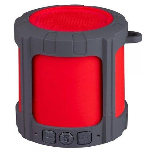Портативная акустика CROWN MICRO СМBS-327 красный/серый