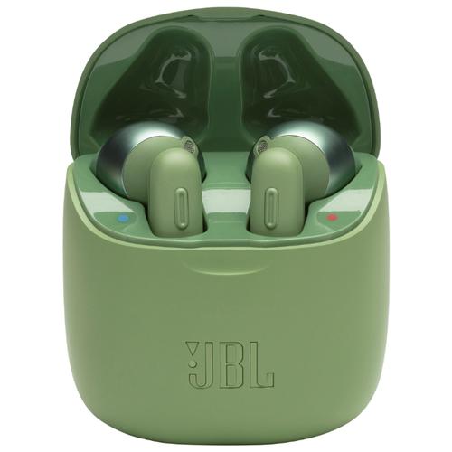 Беспроводные наушники JBL Tune 220 TWS green наушники jbl tune 220 tws jblt220twsblu blue