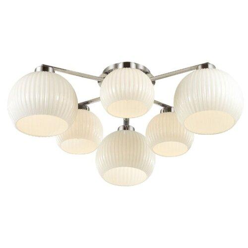 Люстра Odeon light Micca 3971/6C, E27, 360 Вт люстра odeon light 3953 10c jolly e27 600 вт