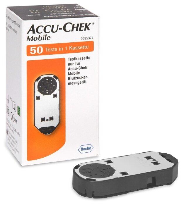 Accu Chek тест кассета Mobile